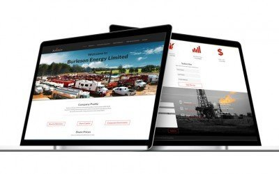 New website for Burleson Energy LTD Live